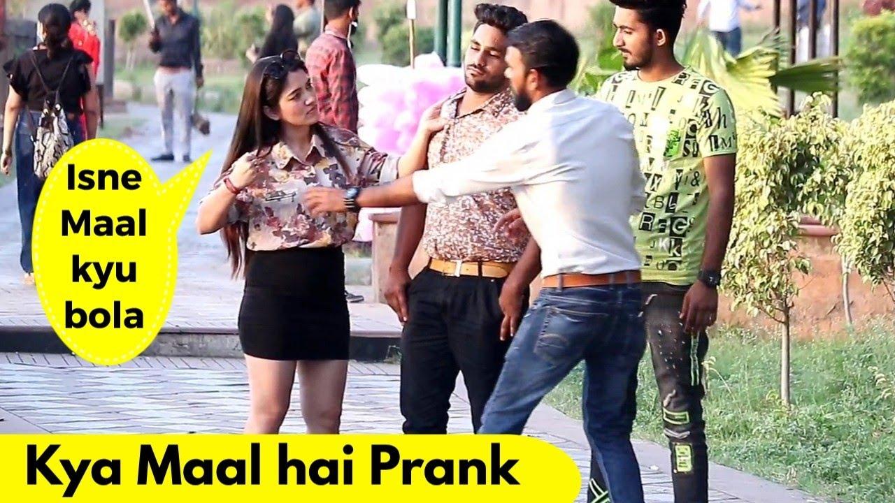 Kya Maal hai Prank ft. Piya Choudhary | Prank Rush | Pranks in India