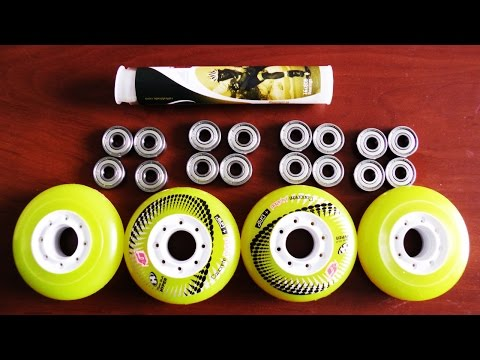 Выбираем колеса и подшипники для роликовых коньков