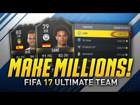 HOW TO MAKE MILLIONS OF COINS ON FIFA 17! (Ultimate Trading/Investing Guide)