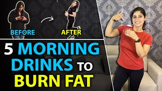 My 5 Morning Drinks for Weight Loss & Immunity | By GunjanShouts