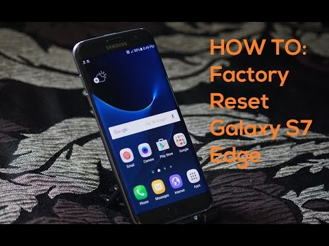 Samsung Galaxy S7 Edge Factory Reset | Hard Reset | Delete Everything