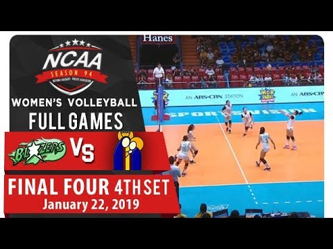 NCAA 94 WV Final Four: CSB vs. UPHSD | Full Game | 4th Set | January 22, 2019