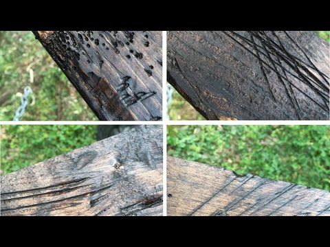 How To Distress Wood To Make It Look Old - DIY Home Tutorial - Guidecentral