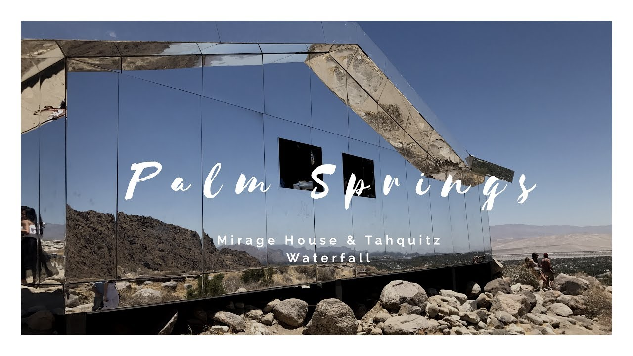 Palm Springs Mirage House Waterfall Youtube
