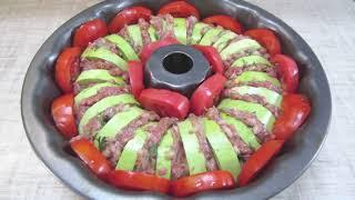 Кабачки с фаршем и сыром в духовке Простой вкусный рецепт
