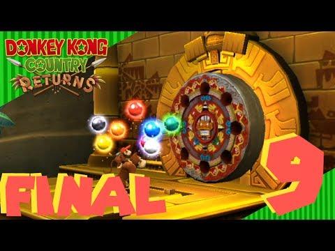 Último capítulo Donkey Kong Country Returns (Wii) | #9 | ¡¡ EL TEMPLO DORADO !!