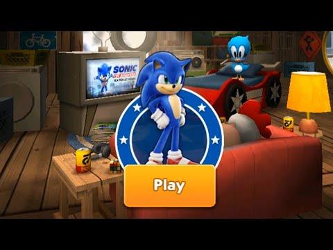 Sonic Dash Gameplay