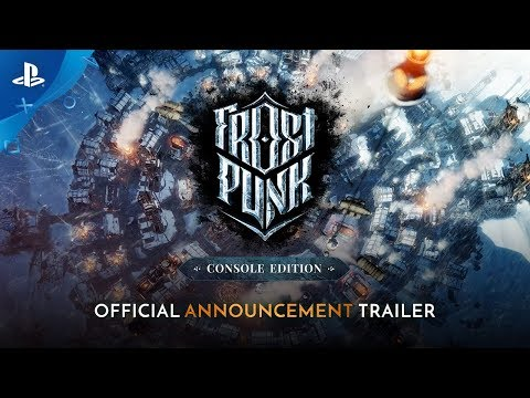 Frostpunk: Console Edition - Announcement Trailer   PS4