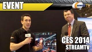 StreamTV 3D Televisions @ CES 2014 - Newegg TV