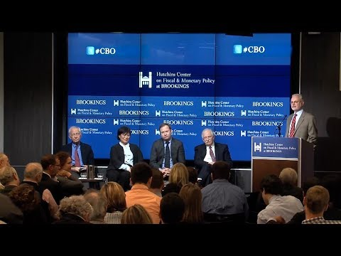 The Congressional Budget Office at 40 - Panel discussion