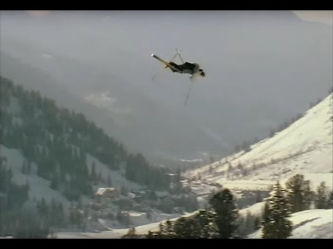 Ski video of master pro Candide Thovex as he Throws