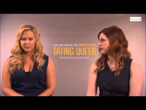 Dating Queen ( Trainwreck ) Interview with Amy Schumer and Vanessa Bayer