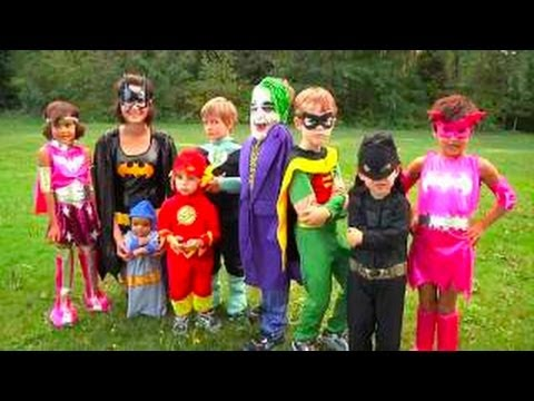 & Halloween Costumes for Kids | Superheros Batman - YouTube