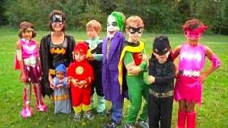 Halloween Costumes for Kids Video   Superheros Batman 2019