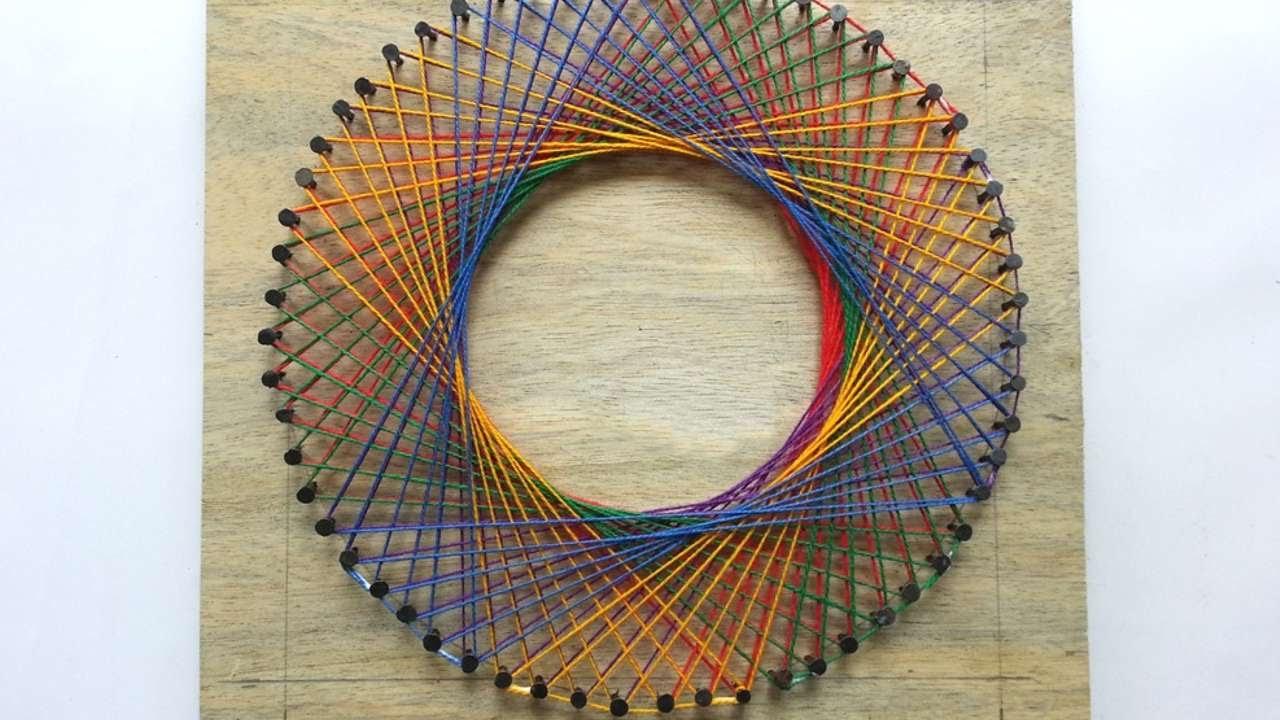 create colorful spirograph