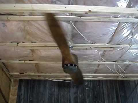 airplane propeller ceiling fan - YouTube