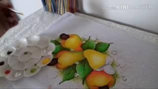 Pintura em pano de copa caju