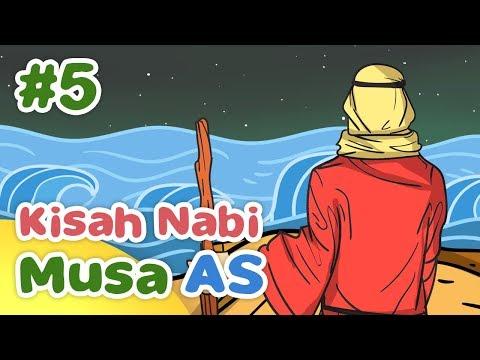 Kisah Nabi Musa AS Membelah Laut Merah - Kartun Anak Muslim Indonesia
