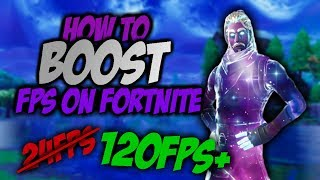 how to boost fps in fortnite on low end pc