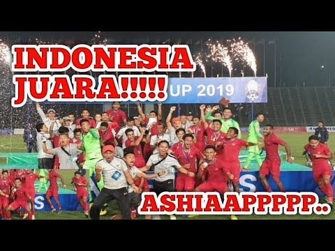 Momen Langka!!!Indonesia U22 Juara AFF 2019