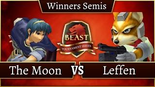 BEAST 7 - MSF | The Moon (Marth) Vs. TSM RB | Leffen - Winners Semis - Melee Singles