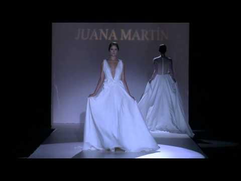 Desfile de Juana Martín 2015, feminidad artesana