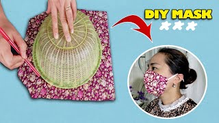 Make Fabric Face Mask At Home Very Easy DIY Face Mask No Sewing Machine