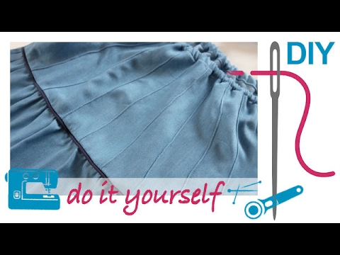 Nählexikon von A–Z –  Biesenfuss – Nähen lernen mit Zierstoff