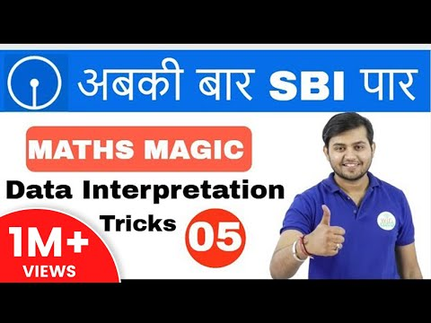 11:00 AM Math Magic by Sahil Sir |Data Interpretation | अबकी बार SBI पार I Day #05