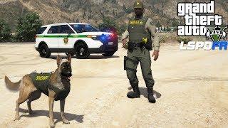 GTA 5 LSPDFR #733 Sheriff K9 Unit County Patrol