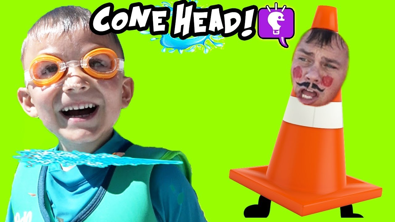 CONE HEAD Gives  Summer Surprise TOYS to HobbyKids!