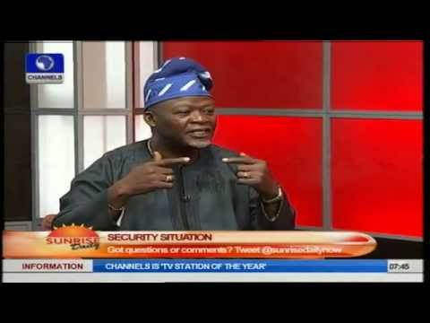Safety Expert Relates Nigerian Insurgency To Experience During Civil War