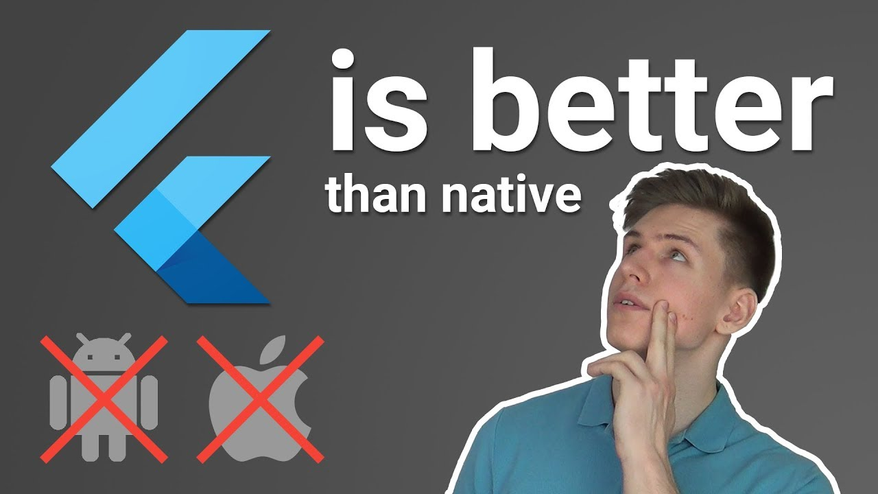 Flutter Is Better Than Native Android & iOS