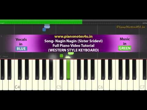 Nagin Nagin Sister Sridevi (2017) Odia Full Piano Tutorial | Piano Notes 4U