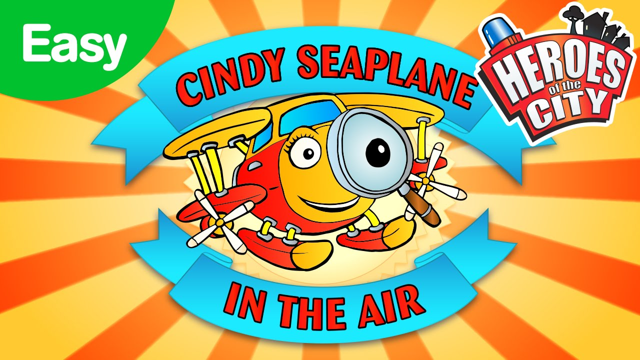 In the Air with Cindy Seaplane - Easy | Car Cartoons | Car Cartoons