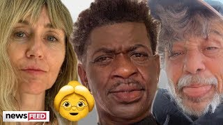 Best Celebrity Pictures From FaceApp Challenge!