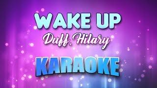 Duff, Hilary - Wake Up (Karaoke & Lyrics)