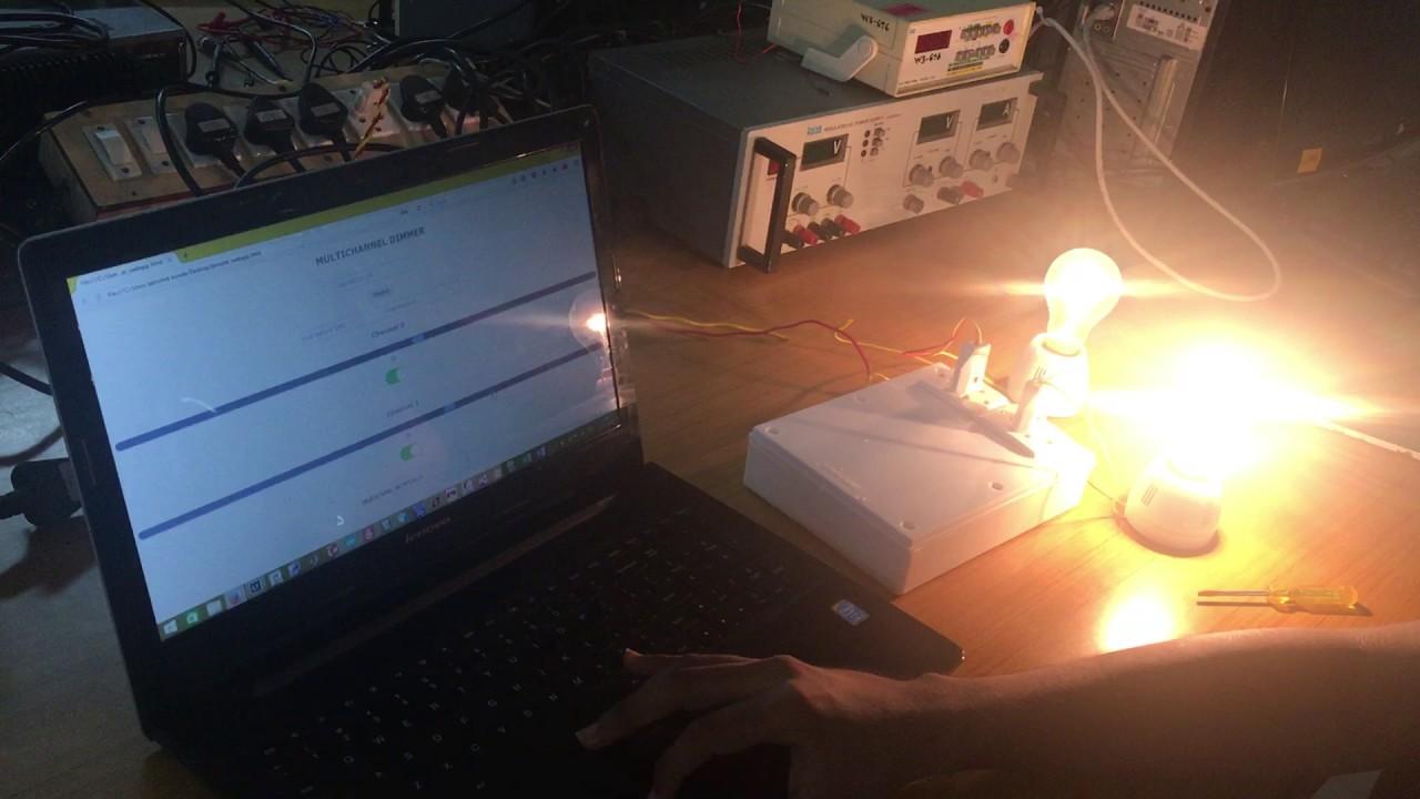 Multichannel Wireless Light Dimmer   Details   Hackaday io