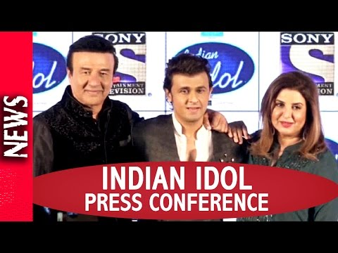 Latest Bollywood News - Indian Idol Judges Press Meet - Bollywood Gossip 2016
