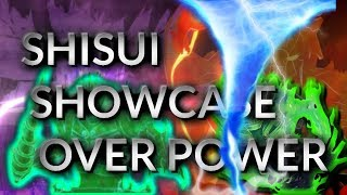 SHISUI FULL SUSANOO IS FREE AND OP! - SHINOBI LIFE ROBLOX OA