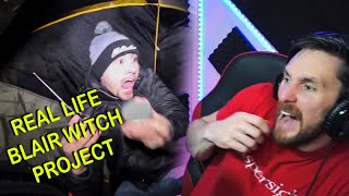 REAL LIFE BLAIR WITCH PROJECT IN POCOMOKE FOREST - CJ Faison Reaction