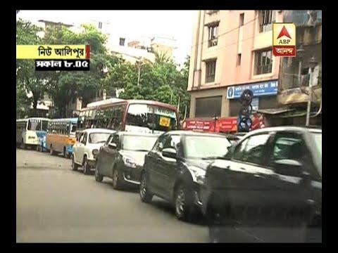 Unprecedented traffic jam in New Alipore