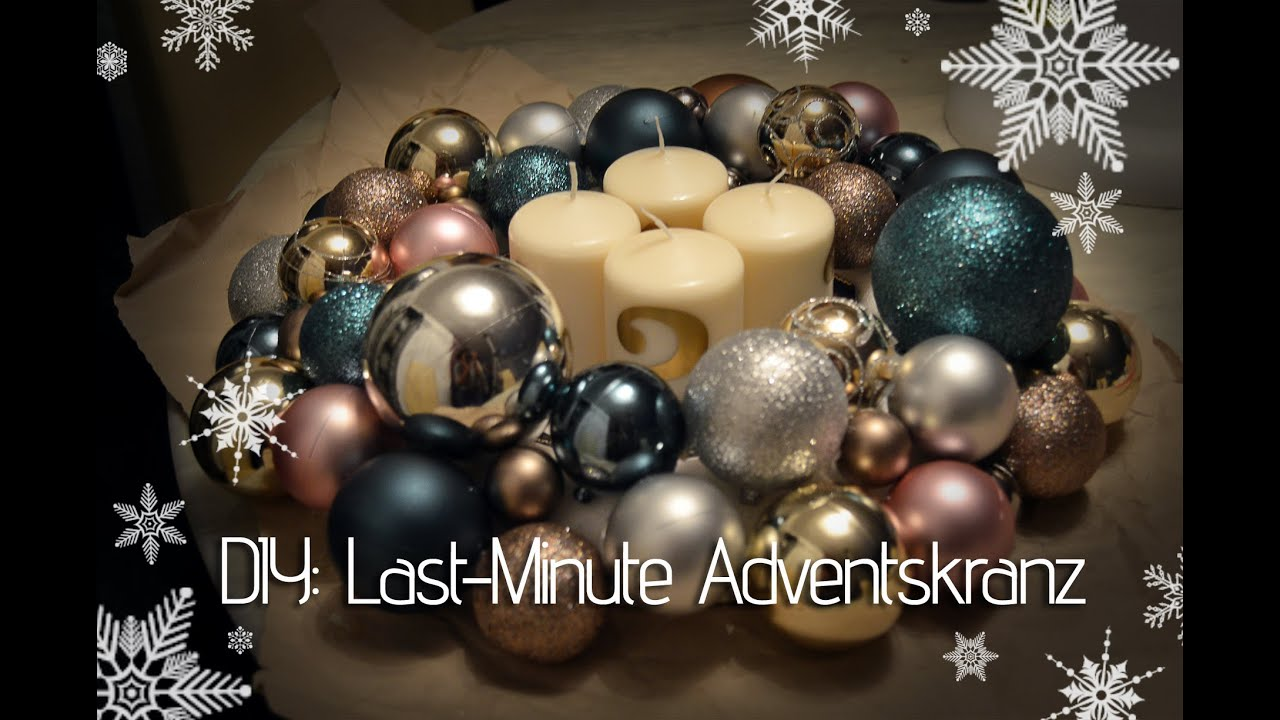 diy last minute adventskranz youtube. Black Bedroom Furniture Sets. Home Design Ideas