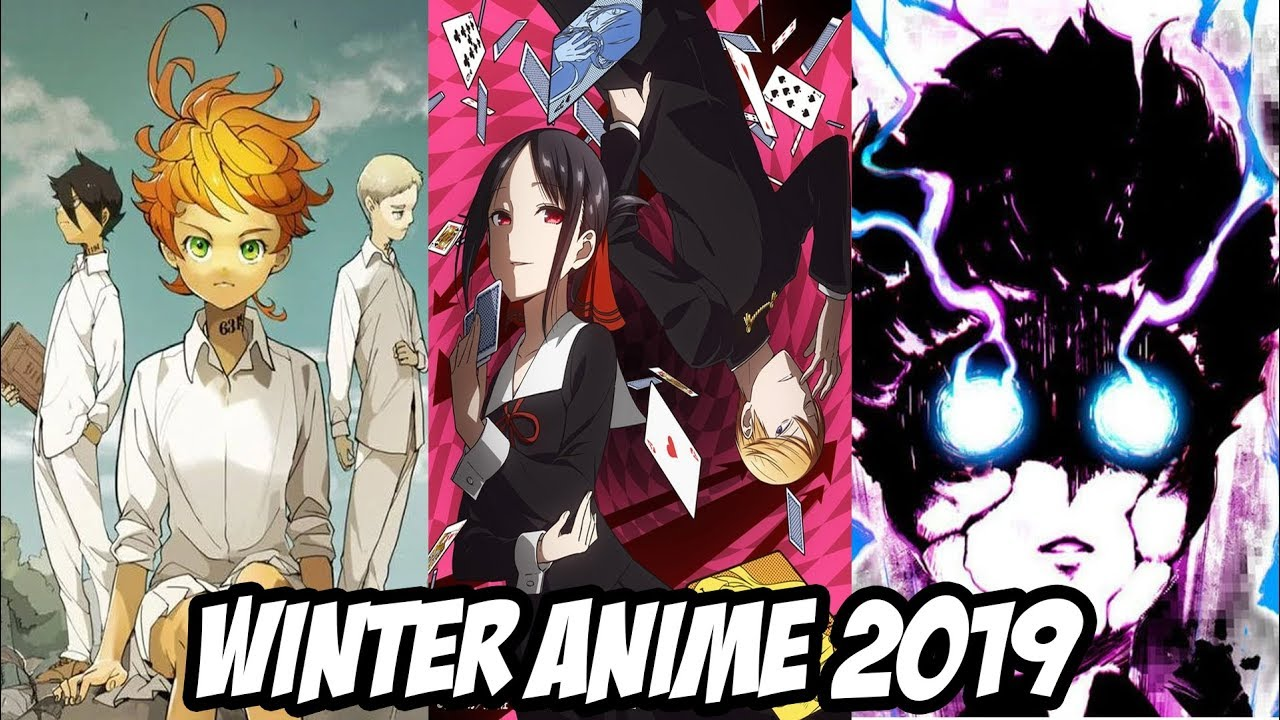 �а��инки по зап�о�� Winter Anime 2019 Season Preview/What I Will Be Watching
