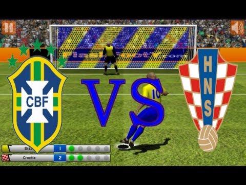 penalty fever 3d final brasil vs croacia - YouTube 0ec2f143ed165