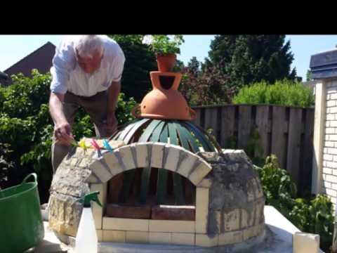 Populair pizza/broodoven bouwen - YouTube SL82