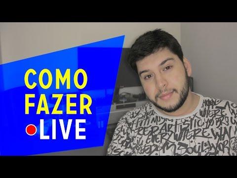 COMO FAZER DE UMA FORMA LEGAL E DIFERENTE UMA LIVE / Transmissão ao vivo