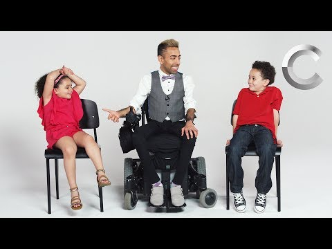 Kids Meet a Guy with Muscular Dystrophy   Cut