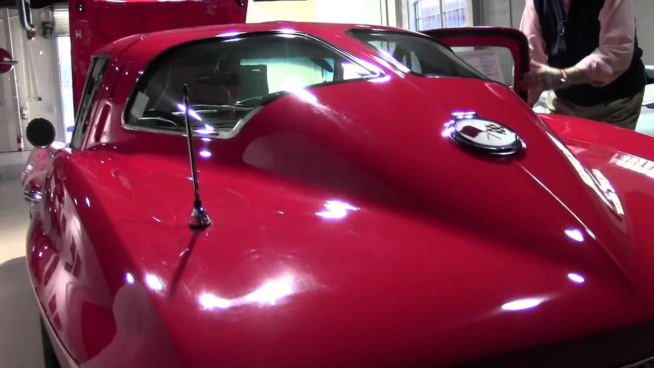 1963 Corvette Ls6 Split Window Coupe Youtube