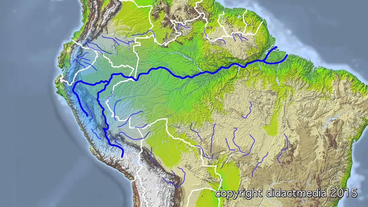 Kontinente Im Uberblick Amerika Binnengewasser Und Berge